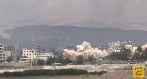 الجيش السوري يتقدّم في مناطق سيطرة داعش جنوب دمشق